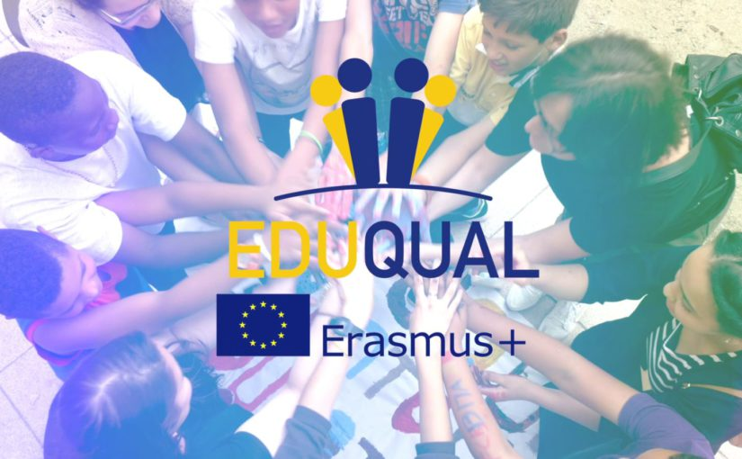Banner EDUQUAL Strategic Alliance for Educational  Equity in Disadvantaged Contexts