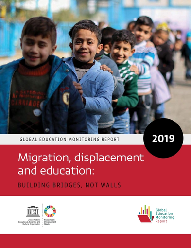Banner Migration, displacement and education: Launch of the 2019 GEM Report