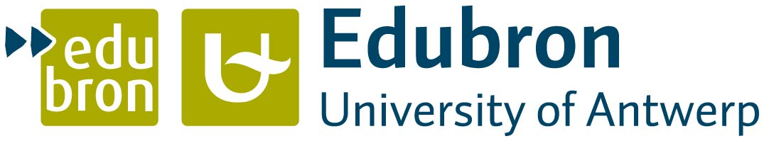 Logo University of Antwerp - Research group Edubron