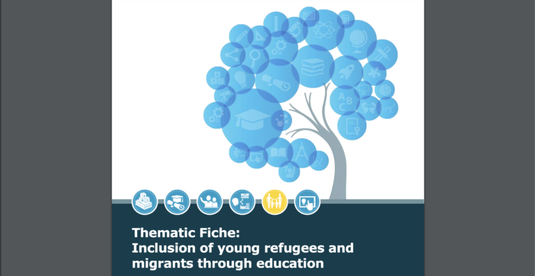 Inclusion of young refugees and migrants through education
